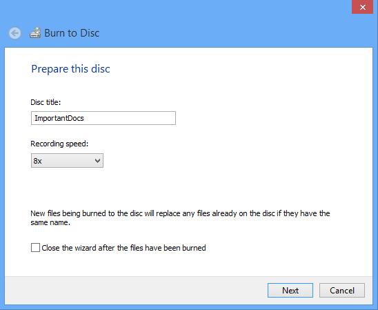 Cara burning file ke CD