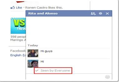 Cara Disable Fitur Seen pada Facebook Chat