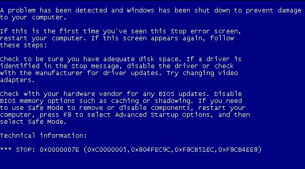 Penyebab Bluescreen Dan Cara Mengatasi Bluescreen Pada Windows It