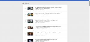 Trends Pencarian YouTube